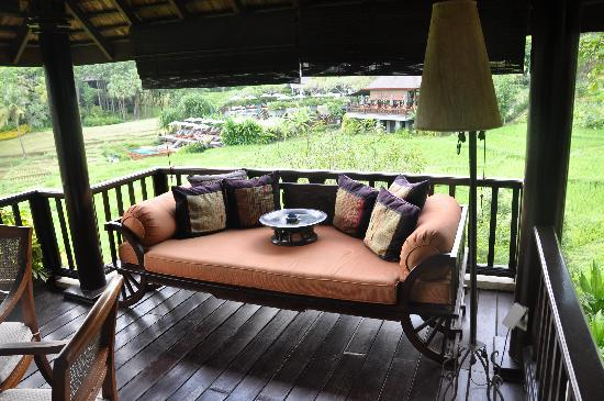 Four Seasons Resort Chiang Mai: On the terrace