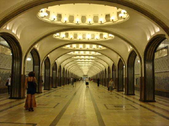 Moscow Metro: Mayakovskaya