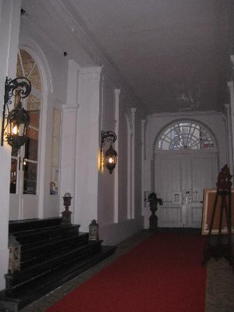 The old carriage entry of the Hotel Patritius