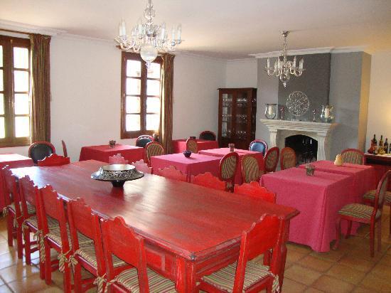 Casa A Pedreira: el comedor interior