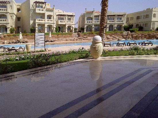 Rixos Sharm El Sheikh: View at breakfast