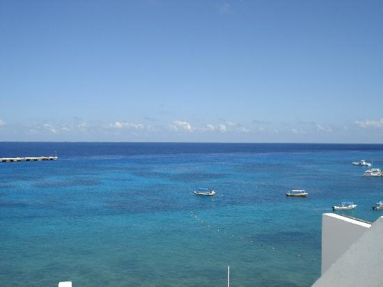 Casa Mexicana Cozumel: ocean view from balcony
