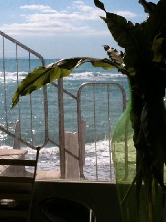 La Marina Hemingway: veduta dall'interno del ristorante
