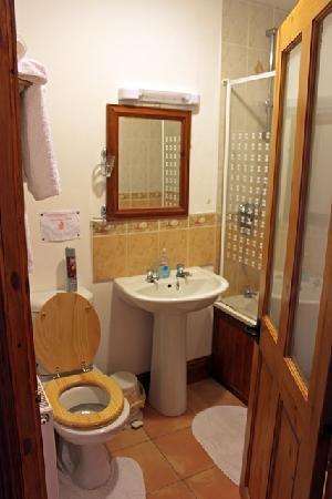 Common Barn Farm: The bathroom.