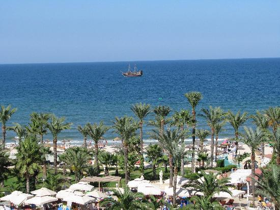 Riadh Palms Hotel: Room with sea-view