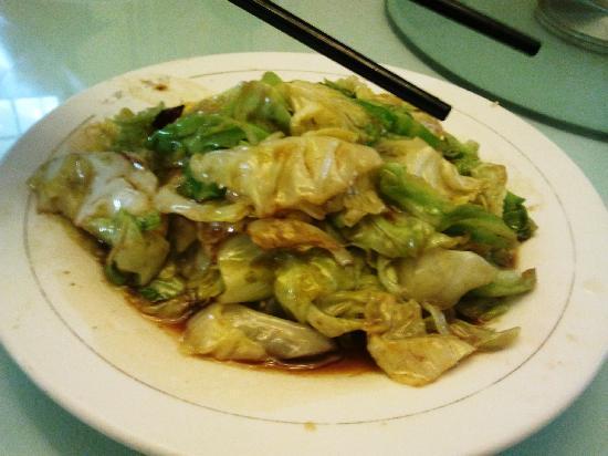 BeiJing XiaoWangFu (GuangHua Road): cabbage dish