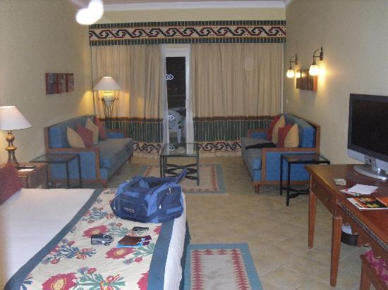 Mosaique Beach Resort Taba Heights: Beautiful large double room