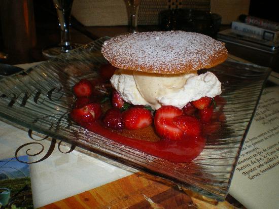Ferme Auberge du Bruel: dessert