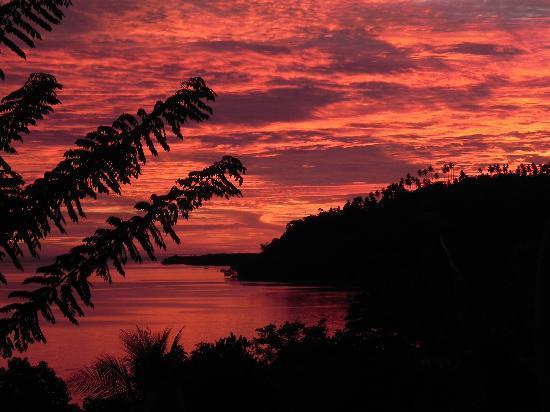 คิคัค ซีนัง รีสอร์ท: tramonto dal terrazzino
