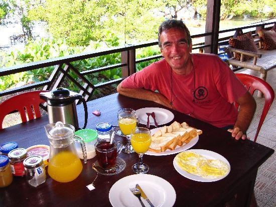 คิคัค ซีนัง รีสอร์ท: colazione