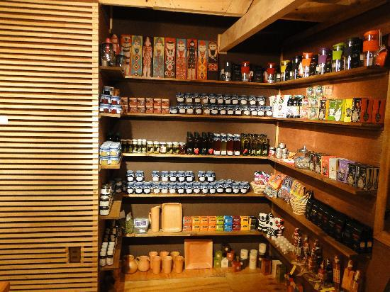Hostal Amerindia Patagonia: the store