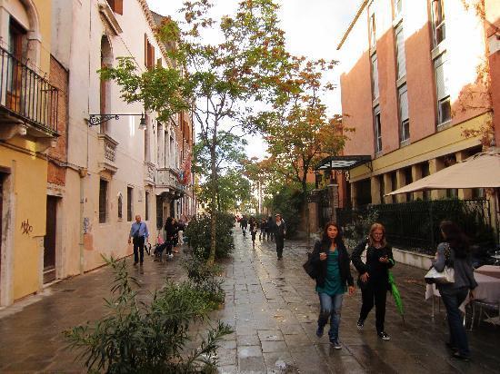 Ca' Pisani Hotel: hotel street