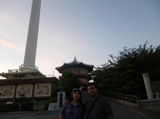เอลิเซ่ โมเต็ล ปูซาน: Busan tower- 15 min walk from motel