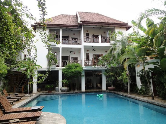Rambutan Resort - Siem Reap : View around the pool