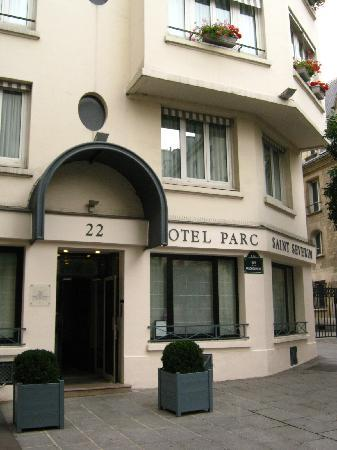 Hotel Parc St. Severin - Esprit de France: entrance