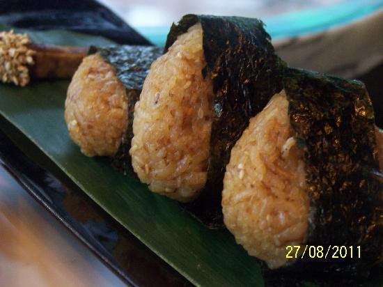 OZONE: Grilled Japanese rice