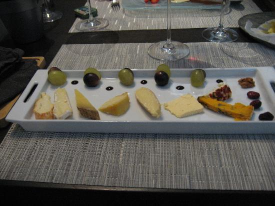 Les Gribaumonts : assortiment fromages