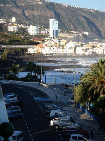 Sol Puerto de la Cruz Tenerife: vistas playa jarrdin