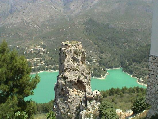 Guadalest Monastery: View from Guadelest