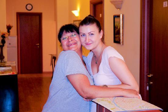 Residenza Betta: Betta on the left - Adriana on the Right