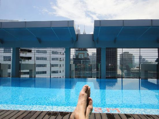 The living room picture of parkroyal serviced suites - Piccolo hotel kuala lumpur swimming pool ...