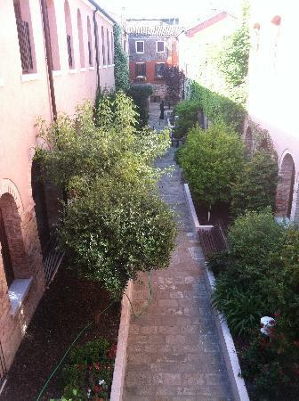 Eurostars Residenza Cannaregio: Courtyard for guests to enjoy