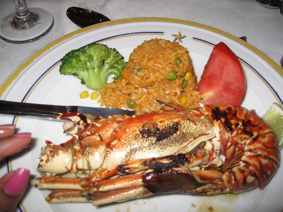 Iberostar Rose Hall Suites: Lobster