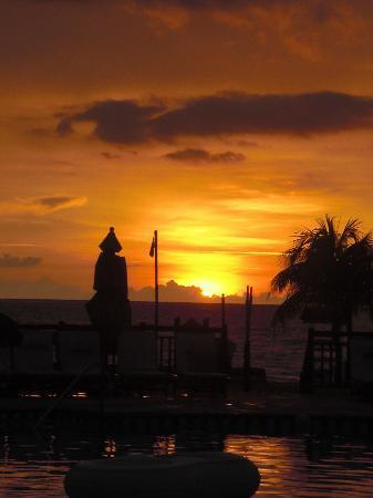 Beaches Negril Resort & Spa: Beautiful sunsets.