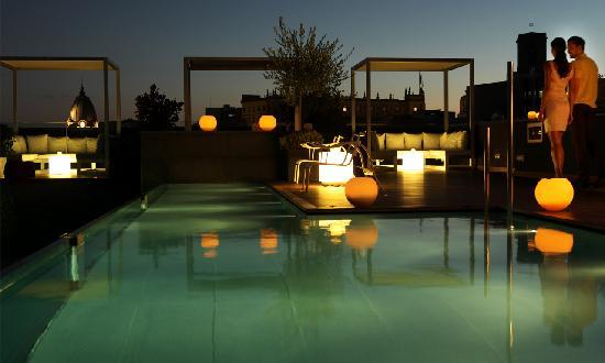 Hotel Ohla Barcelona: Ohla Chill Out terrace