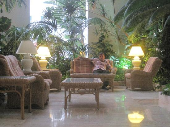 Spring Hotel Vulcano: sitting area in reception