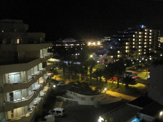 Spring Hotel Vulcano: late night view from balcony