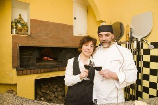 La Tavernaccia: cuoco Giuseppe Ruzzettu