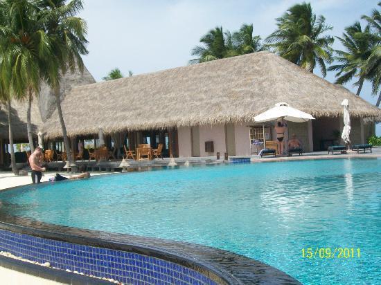Veligandu Island Resort & Spa: Poolside, Veligandu
