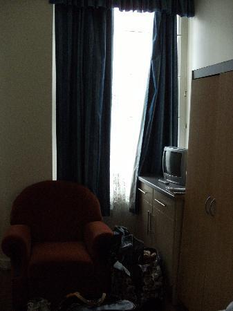 Central Park Hotel@Finsbury Park: Habitación con vistas
