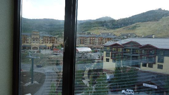 Grand Summit Hotel: view from our room