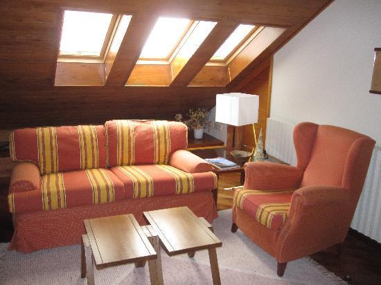 Hotel Vall Ferrera: Sala de lectura