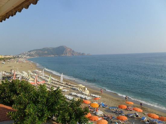 View From The Room Picture Of Muz Hotel Alanya Tripadvisor