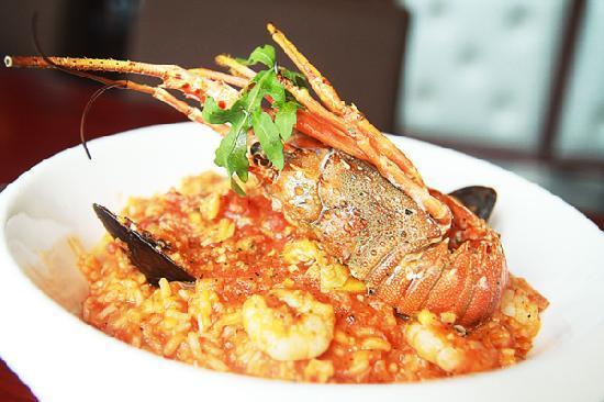 Mu YaLi CanBa: seafood rice
