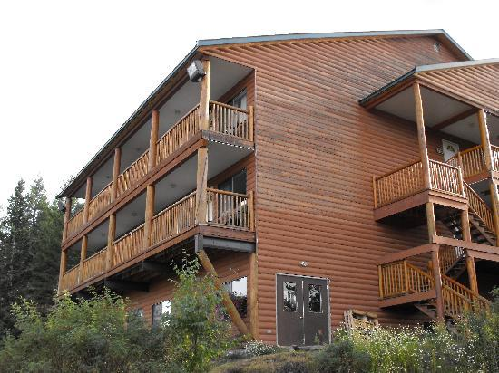 "Spruce Hill Resort & Spa: One of the ""Bunkhouse"" buildings"