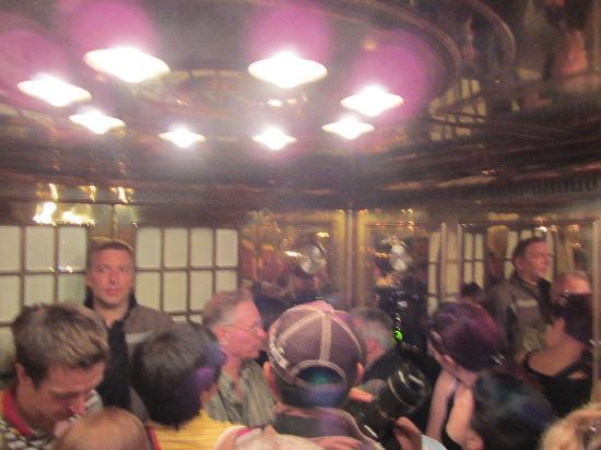 The Eagle's Nest: Inside the elevator