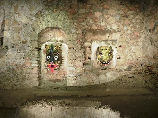 Zacatecas, Meksiko: Máscaras del museo