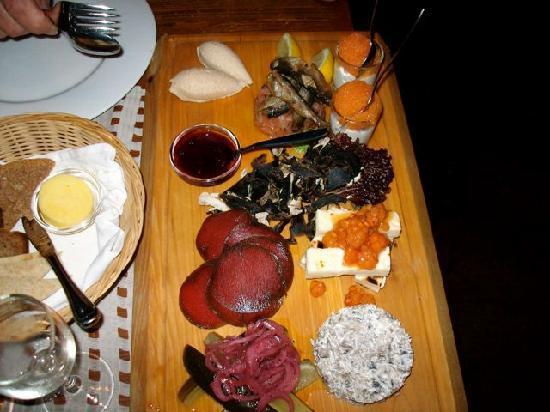 Restaurant Lappi: Tasting sample first course
