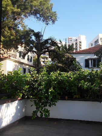Vila Vicencia: die Veranda