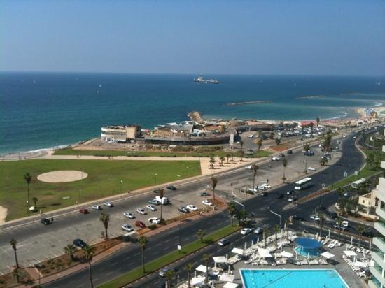 Dan Panorama Tel Aviv: the view as seen fm my room at 17th floor