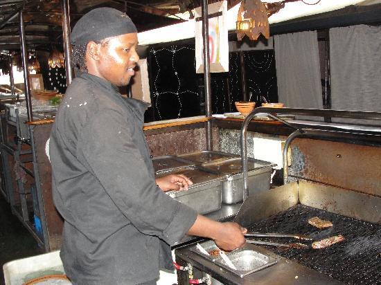 moyo Stellenbosch: Asando la carnecita !!!