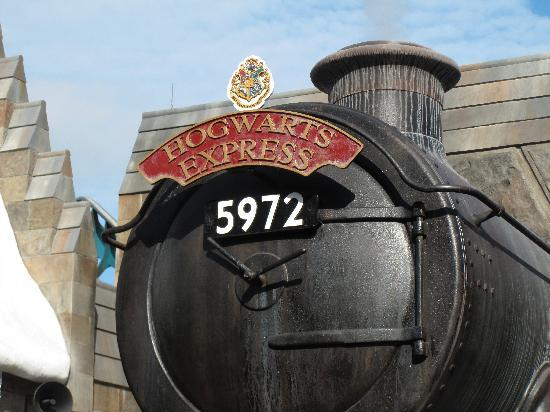 The Wizarding World of Harry Potter: hogwarts express