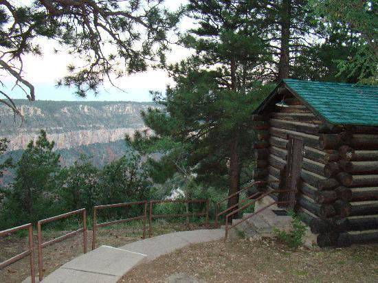 Grand Canyon Lodge - North Rim: Our cabin on the side rim