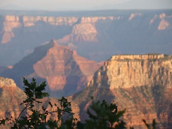 Grand Canyon Lodge - North Rim: Changing Colors of the Canyon
