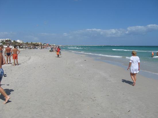 Vincci El Mansour: nice beach