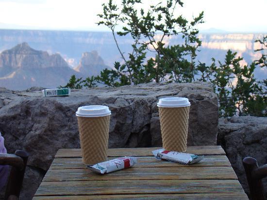Grand Canyon Lodge - North Rim: Breakfast on the rim